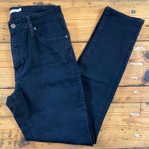 Levi's 721 High Rise Skinny Black Jean